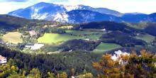 Webcam Semmering - Panoramic view of the ski resort