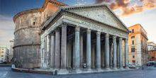 Webcam Rome - Pantheon - the Temple of all the gods