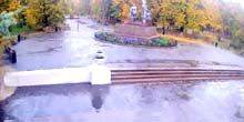 Webcam Slobozhansky (Komsomol) - Park - Central Entrance