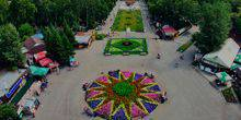 Webcam Omsk - Park of culture and leisure. 30 let VLKSM
