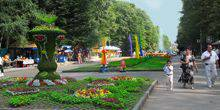 Webcam Stavropol - The entrance to Victory Park