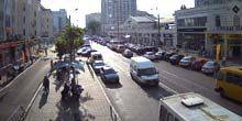 Webcam Odessa - SC Fresh Market and Parking on Panteleimonovskaya