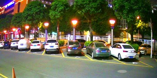 Webcam Shantou - Parking near the hotel in the city center