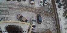 Webcam Nur-Sultan (Astana) - Parking in one of the courtyards