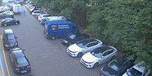 Webcam Moscow - Parking in front of the pavilion №3 in Sokolniki
