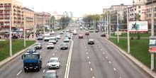 Webcam Minsk - Partisan Avenue