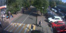 Webcam Moscow - Parking at the fourth pavilion in Sokolniki