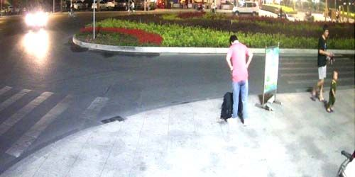 Webcam Shantou - Pedestrians in the city center