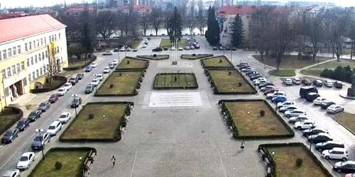 Webcam Uzhgorod - People's Square with the regional administration