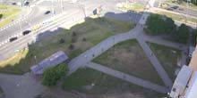 Webcam Kharkov - Metro station Peremoga