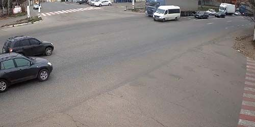 Webcam Kharkov - Poltava highway in Pesochin