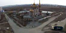 Webcam Novotroitsk - The Cathedral of Saint Apostles Peter and Paul