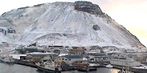 Webcam Reykjavik - Fishing ship pier