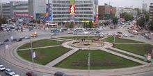 Webcam Novosibirsk - Broadcast from Kalinin square