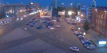 Webcam Novosibirsk - Crossroads of Red Ave. on Lenin Square