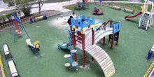 Webcam Ternopol - Children's Playground on the Boulevard Kulish