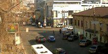 Webcam Dnepr (Dnepropetrovsk) - View to the street Plekhanov