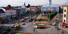 Webcam Chernivtsi - Central square