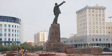 Central Lenin square Yakutsk