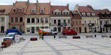 Webcam Sandomierz - Old town Square
