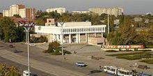 The Suvorov Square Tiraspol