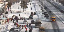 Webcam Novotroitsk - Square on Sovetskaya street