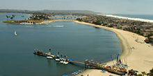 Webcam San Diego - Beach resort Catamaran