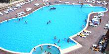 Webcam Kirilovka - Swimming pool hotel Water World