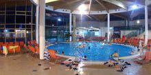 Webcam Indoor pool in the water park