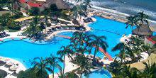 Webcam Puerto Vallarta - Pools in the hotel on the beach