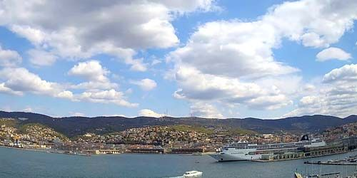 Webcam Trieste - Center Marine Station (port)