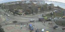 Webcam Kerch - With the port of Kerch Kirova street