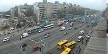 Webcam Dnepr (Dnepropetrovsk) - The Avenue Slobozhansky (Truth)