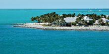 Coast with a pier and swimming pool Key West