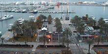 Webcam Palma (Mallorca Island) - The Central Marina of Palma de Mallorca