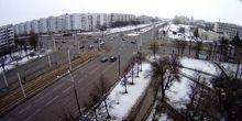Webcam Vitebsk - The intersection of Moscow Avenue and Victory