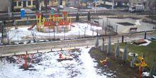 Webcam Kurakhovo - Playground on Prokofiev Avenue