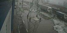 Webcam Rostov-on-don - Trucks in the industrial area