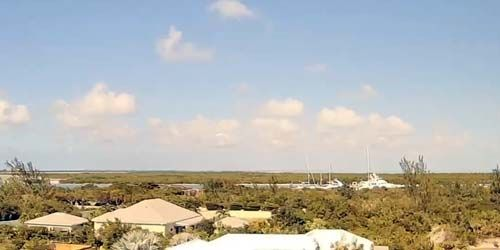 Webcam Turks and Caicos Islands - Providenciales - panorama from above