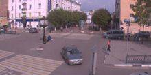 Webcam Tver - The intersection of Trekhsvyatskaya St. and b. Radishchev