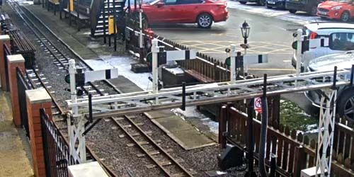 Webcam Leek - Children's Steam Railway on Rudyard Lake
