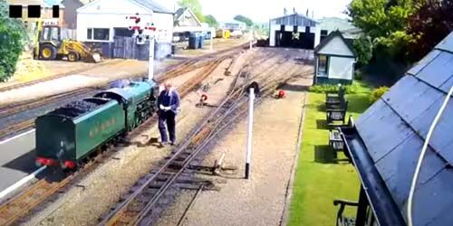 Webcam Torquay - Miniature railway