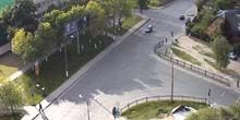 Webcam Brest - Crossroads of Rechitskaya and Writer Smirnov Streets
