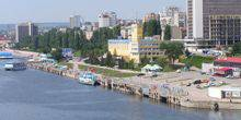 View of river station Saratov