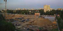 Webcam Moscow - Construction of the stadium RED STREET