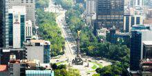 Webcam Mexico - View of the prospectus Paseo de la Reforma