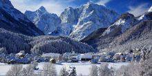 Webcam Kranjska Gora - The resort is in the mountains
