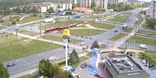 Webcam Lodz - Restaurant McDonald's on Rokichinskaya