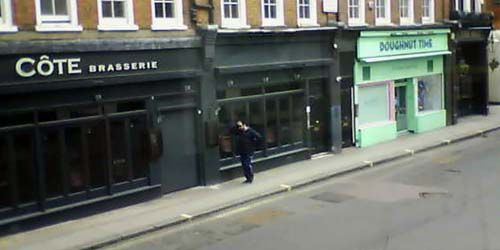 Webcam London - Restaurants in Soho