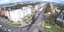 Webcam Pskov - Riga Avenue